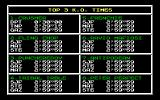 Frank Bruno's Boxing DOS Top KO times (Amstrad PC1512)