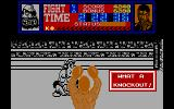 Frank Bruno's Boxing DOS ...and he's out! (Amstrad)