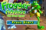 Frogger Advance: The Great Quest Game Boy Advance Your quest begins!