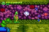 Frogger Advance: The Great Quest Game Boy Advance Collect giant gems along the way by following the blue coins