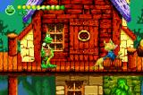 Frogger Advance: The Great Quest Game Boy Advance Beware the cat... some enemies take more than one hit to destroy such as this cat which takes 2 hits