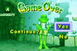 Frogger Advance: The Great Quest Game Boy Advance If you aren't careful, this could be the screen you see