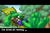 Frogger's Journey: The Forgotten Relic Game Boy Advance The introduction shows how your journey begins
