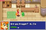 Frogger's Journey: The Forgotten Relic Game Boy Advance What a fox!  No, no... I mean she really is a fox.  :)