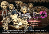 Eternal Poison PlayStation 2 Title screen