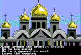 The Spy's Adventures in Europe Apple II A few things to do around Moscow (double hi-res)