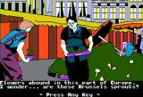 The Spy's Adventures in Europe Apple II You've gotta eat your vegetables (double hi-res)