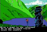 The Spy's Adventures in Europe Apple II This fellow could help us home in on Dr. X (double hi-res)