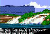 The Spy's Adventures in South America Apple II Floating down the Orinoco... (double hi-res)