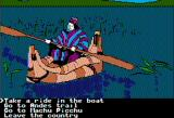 The Spy's Adventures in South America Apple II Hiking up to Lake Titicaca (double hi-res)