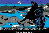 The Spy's Adventures in South America Apple II Shady Galapagos guy provides some crucial info (double hi-res)