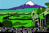 The Spy's Adventures in South America Apple II Landscape in Chile (standard hi-res)