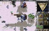 Command & Conquer: Red Alert DOS with a sidebar opened, you cannot see as half as under Windows