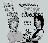 Bill & Ted's Excellent Game Boy Adventure Game Boy Title