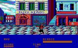 Street Fighter DOS Birdie was too strong (EGA)