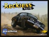 Reckless Racing Zeebo Title screen.