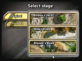 Reckless Racing Zeebo Stage selection.