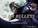 10.000 Bullets PlayStation 2 The title screen.