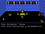 Bomulus and the Lost Crown MSX I don't think the broomstick will keep the dog away
