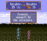 Gemfire SNES Battle animation - Two Knights-Units are battling it out