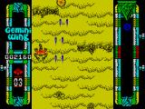 Gemini Wing ZX Spectrum Big, flying scorpion - quite a hard enemy