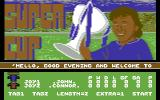 Supercup Football Commodore 64 Title Screen.