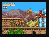 Spinmaster Zeebo Stage 3 takes place at The Great Wall of China. Johnny is using shurikens against his enemies.