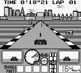 Nakajima Satoru Kanshū F-1 Hero GB Game Boy First! However two (or even more) cars are very close.