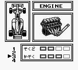 World Circuit Series Game Boy Customizing... Engine.