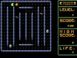 PacMania II Windows Classic game level 2: Eat the monsters.