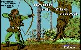 Robin of the Wood Commodore 64 Loading Screen.