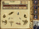 Might and Magic IX Windows Your spellbook. Note the rabbit icon for the Haste spell...