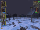 Might and Magic IX Windows Frosgard, the desolate snowy town