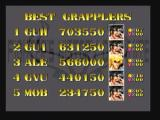 Fighter's History Dynamite Zeebo The highest scores.