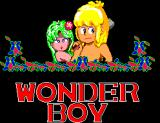 Wonder Boy SEGA Master System Title