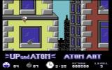 Atom Ant Commodore 64 Flying on Level 3.