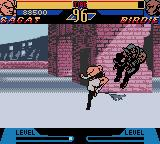 Street Fighter Alpha: Warriors' Dreams Game Boy Color Painful kick in birdie's balls