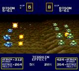 Military Madness TurboGrafx-16 Enemy tanks have advantage