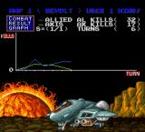 Military Madness TurboGrafx-16 Battle statistics