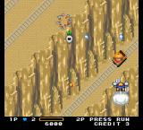Detana!! TwinBee TurboGrafx-16 Mine cart with enemy