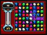 Bejeweled: Twist Zeebo The first level in Zen mode. This endless mode allows players to play at their own pace, with no bombs or locks.