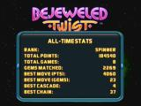 Bejeweled: Twist Zeebo The all-time stats.