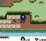 Xena: Warrior Princess Game Boy Color The princess found the sword