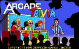 Arcade Trivia Quiz DOS Loading screen. (VGA)