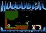 Hobgoblin Atari 8-bit You must time your jumps to the arrows