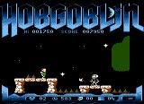 Hobgoblin Atari 8-bit Your jump must be timed so as not to land in the way of the skeleton or its hatchets