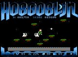 Hobgoblin Atari 8-bit Killed by the ghosts, should have waited below