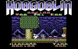 Hobgoblin Commodore 64 Cornered by the ghost and the face in the wall