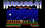 Hobgoblin Amstrad CPC Attacked by a skeleton