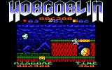 Hobgoblin Amstrad CPC Jumping up on the rock